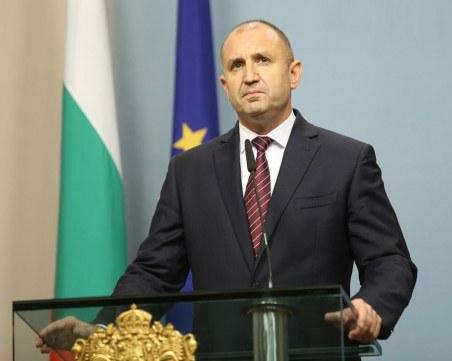 Румен Радев: Нова Конституция е възможна след оставка на правителството и предсрочни избори