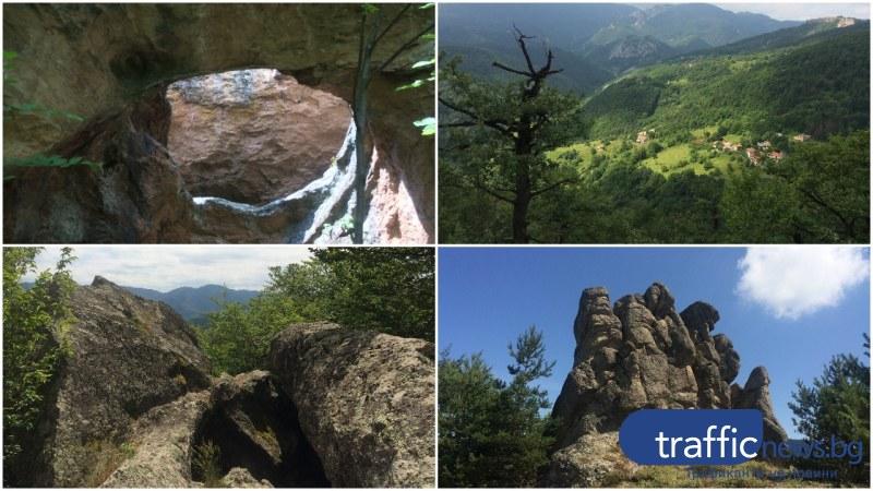 На 50 км от Пловдив: Тракийското светилище Ин Кая и Турската куля
