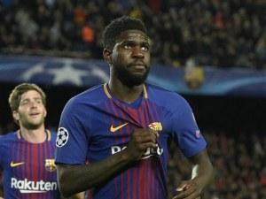 Основен футболист на Барселона с COVID-19