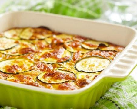 Бързо приготвяне и евтини съставки: Печени тиквички със сирене