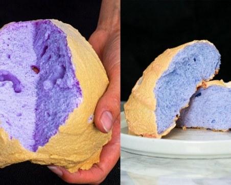 Как да си приготвим цветния хляб, по който всички полудяха