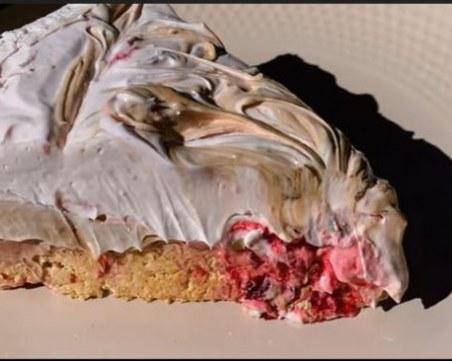 Освежаваща кремообразна торта - готова за 15 минути и без печене