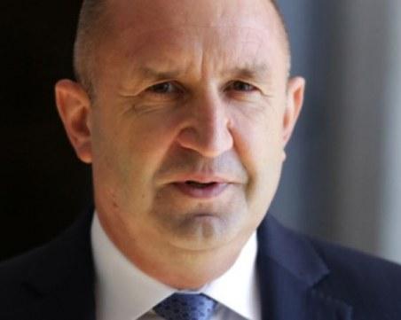 Румен Радев: Не трябва да обсъждаме конституционни промени