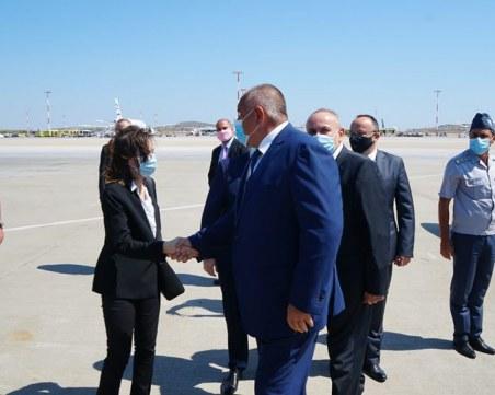 "Бойко Борисов пристигна в Атина за подписване за ""Булгартрансгаз"