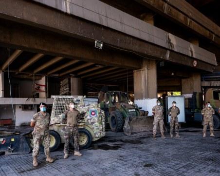 Близо 80 контейнера с токсични вещества са открити в пристанището в Бейрут