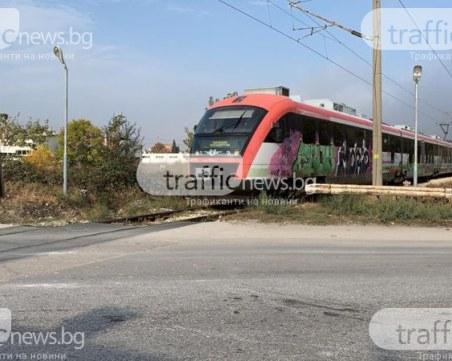 Влакове с 80 км/ч ще пътуват до Летище Пловдив, екоинспекцията проверява проекта
