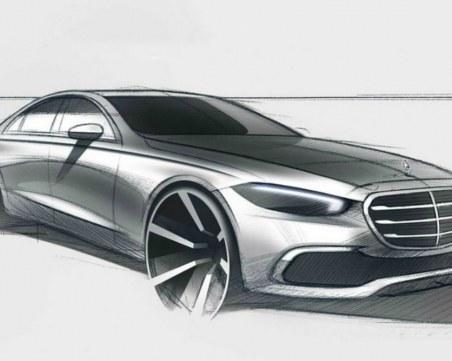 Разкриха външния вид на новия Mercedes-Benz S-Class