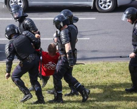 Спецчастите се намесиха в протеста в Минск