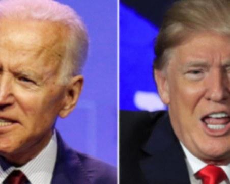 Проучване: Джо Байдън води на Доналд Тръмп с 11 пункта