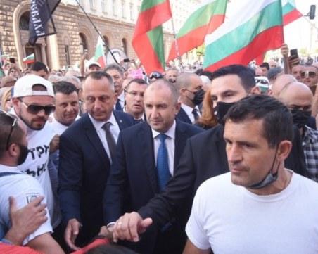 Братът на главния прокурор пази президента Румен Радев
