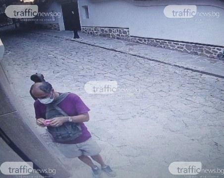 Ей така за спорта: Мъж задигна свещник от пловдивски хотел