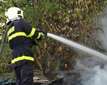 Автобус с военни се запали в движение в Силистренско