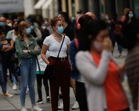 Испания оглави класацията за COVID-19 в ЕС: Вече над половин милион са случаите на инфектирани