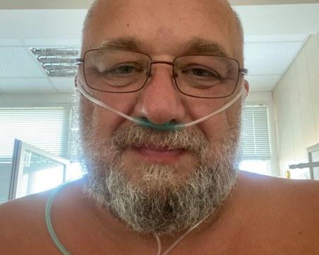 Красен Кралев след 12 дни в интензивното: Вирусът е жесток! Пазете себе си и лекарите