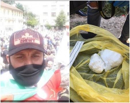 Протестърът със 150 грама кокаин в Пловдив - художник в тежка депресия