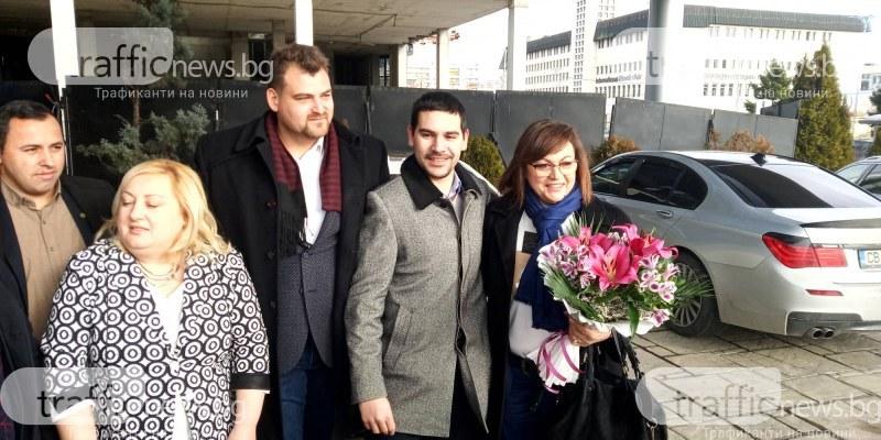 Нинова отказа поканата на Гергов за 9 септември, но събира поддръжниците си в Пловдив