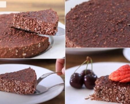 Без брашно, без яйца и без печене - торта от 3 съставки