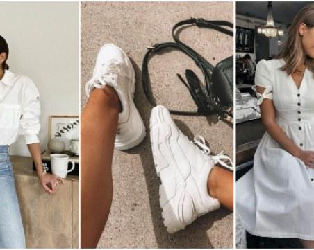 5 бели неща, които да имате в гардероба си, независимо от сезона