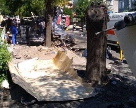 Оцелял след касапницата между ТИР и 12 коли: Пред очите ми горяха хора