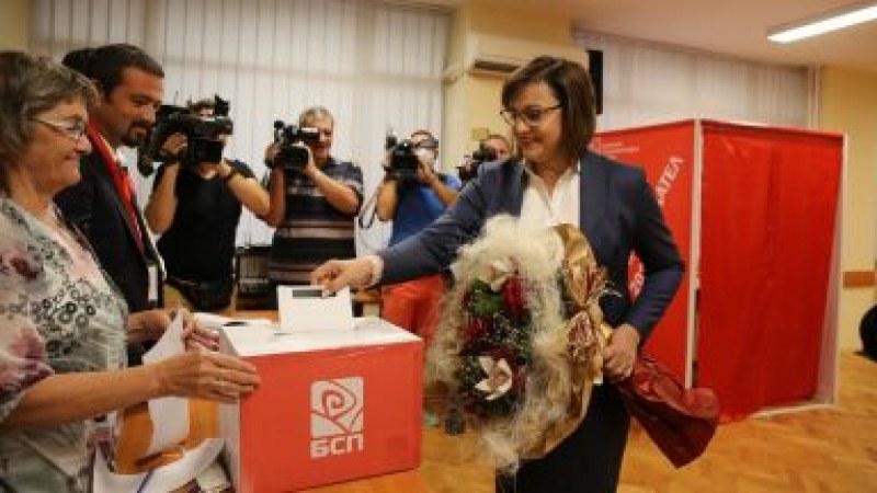 Очаквано: Нинова печели битката за БСП с огромно мнозинство