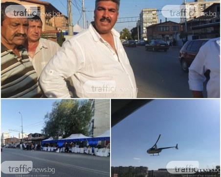 Дядото на бебето, ескортирано с хеликоптер в Столипиново: Всичко ни е изрядно