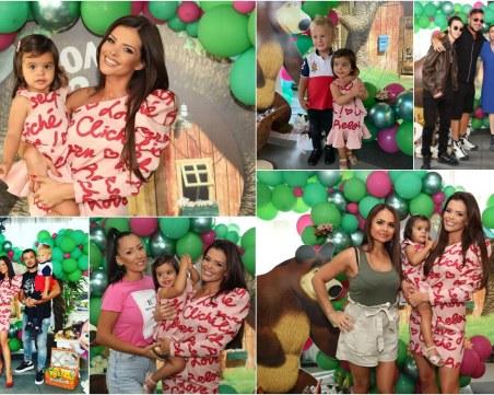 Куп звезди уважиха празненството на малката Паола