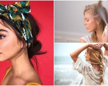 Прически, които ще ви помогнат да издържите 6 дни, без да миете косата си