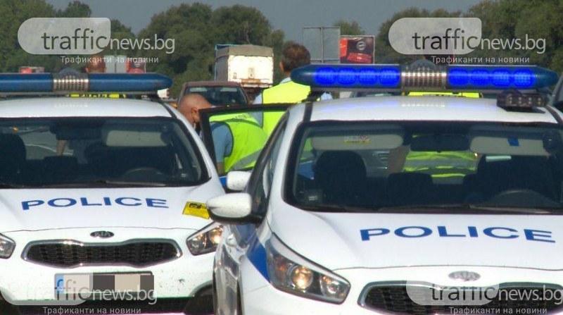 Арестуваха полицай, произвеждал метамфетамин