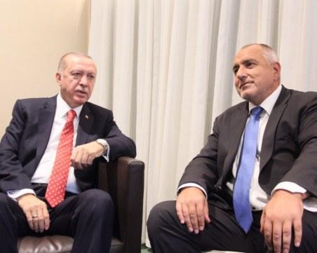 Борисов и Ердоган с разговор по телефона