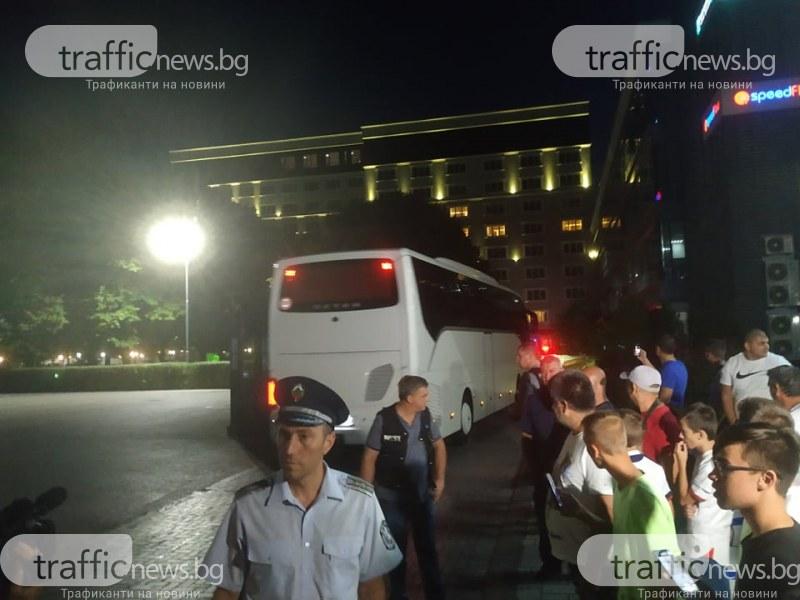 """Тотнъм пристигнаха в Пловдив –  целият хотел """"Империал"""" е за тях"""