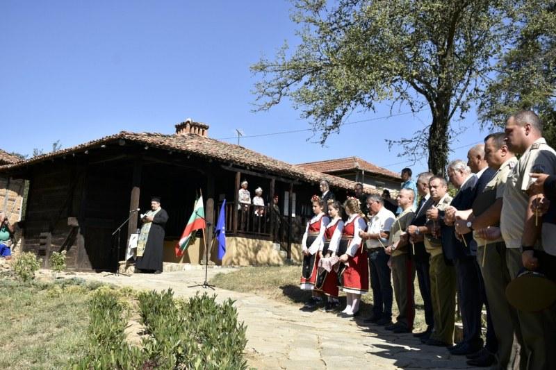 Откриха реставрираната къща спасителят на Средните Родопи полк. Владимир Серафимов