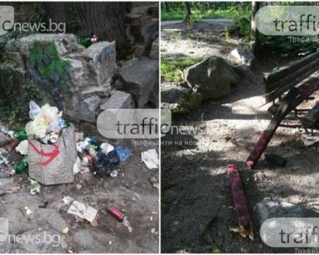 За пример: Доброволци връщат красивия облик на Данов хълм