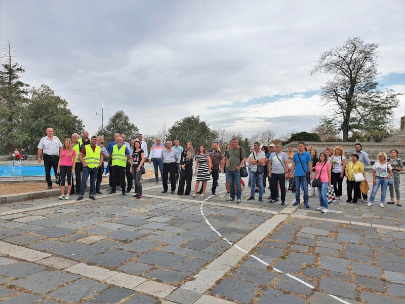 Общински служители яхват велосипеди в Седмицата на мобилността в Пловдив