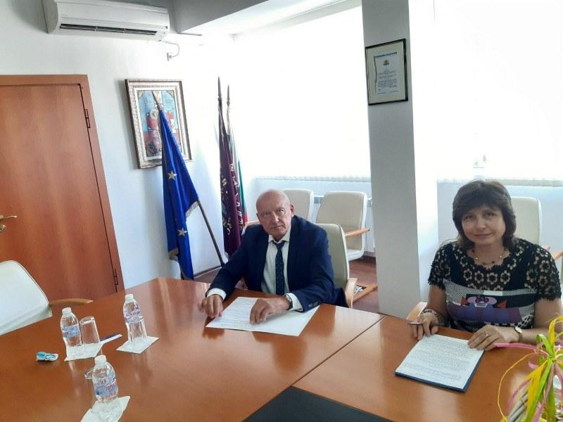 Споразумение за академично сътрудничество подписаха МУ-Пловдив и НСА