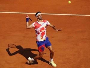 Гришо на четвъртфинал в Рим след обрат срещу Яник Синер
