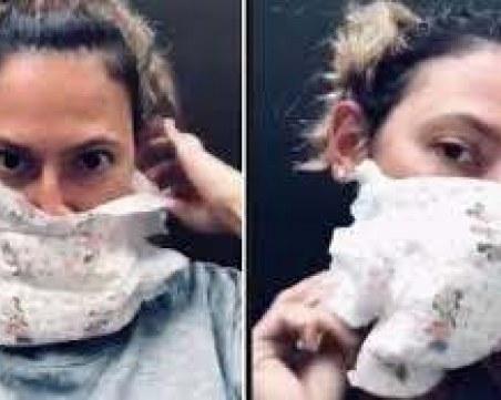 Не сушете маските в микровълновата и не ги правете от памперс