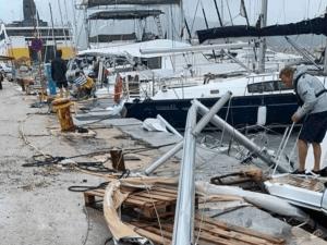 Циклонът в Гърция взе първа жертва
