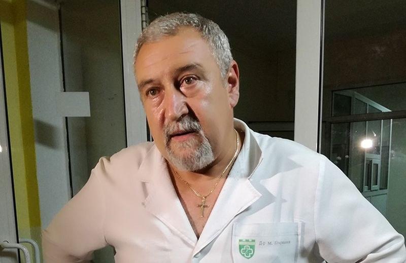 И съпругата на починалия д-р Първанов е с COVID-19