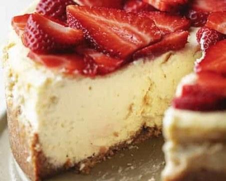 Лесна рецепта за чийзкейк без захар и брашно