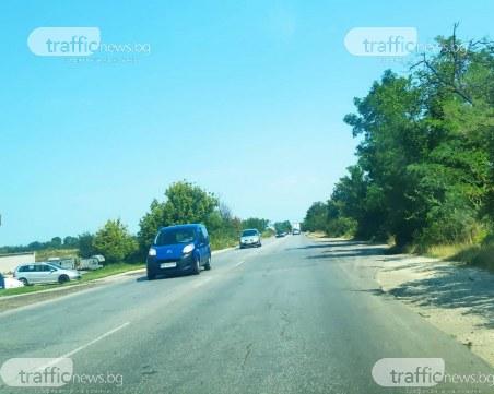Околовръстното на Пловдив заприлича на селски път, поръчката за удвояването му забуксува