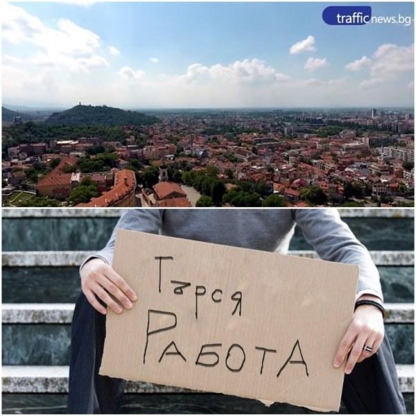 Акция в Пловдив! Вдигнаха мерника на работодатели, наемащи служители