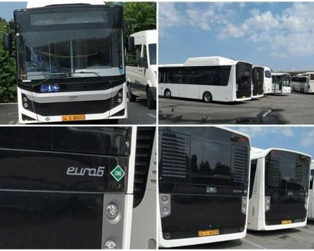 """""""Хеброс бус"""" пусна Евро 6 по всичките си линии, само 19 от 73 автобуса по новия договор са до 2 години"""