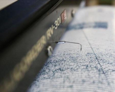 Земетресение край Сливен