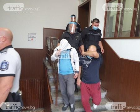 Доведоха с белезници в съда сина на Катя Лерца, баща му - пуснат от ареста
