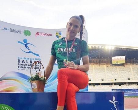 Избраха Габриела Петрова за Спортист номер 1 на месец август