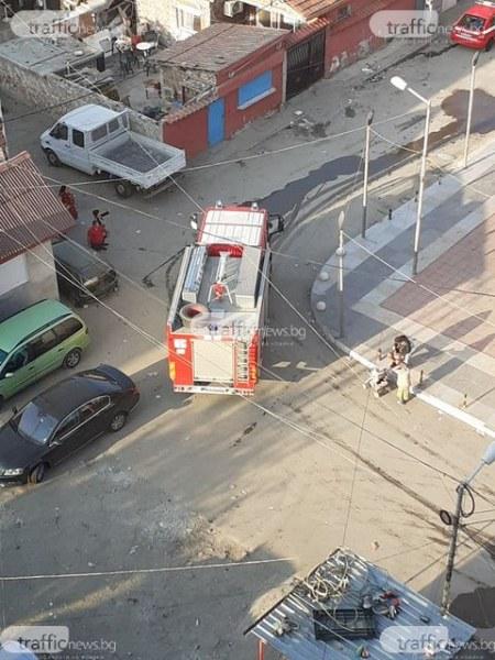 Бездомници и наркомани се навъртали в изгорялото жилище в Столипиново