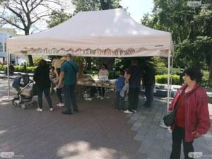 """Раздават """"Книги за смет"""" в Пловдив"""
