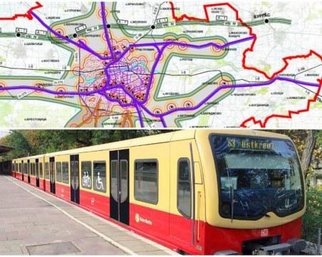 Проектът за S-Bahn в Пловдив: 6 линии за 11 села и всички райони, свързват Тракия с Филипово