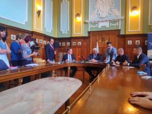 Подписаха договора за път за 1 млн. лева в Пловдив за нов завод за 20 млн. лева