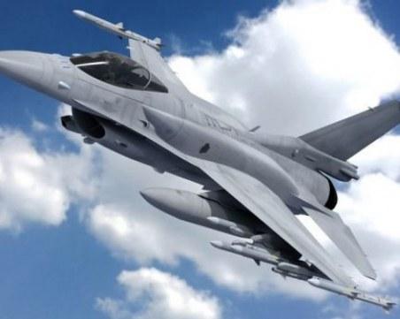 Американски изтребители Ф16 засилват въздушната отбрана на България от утре